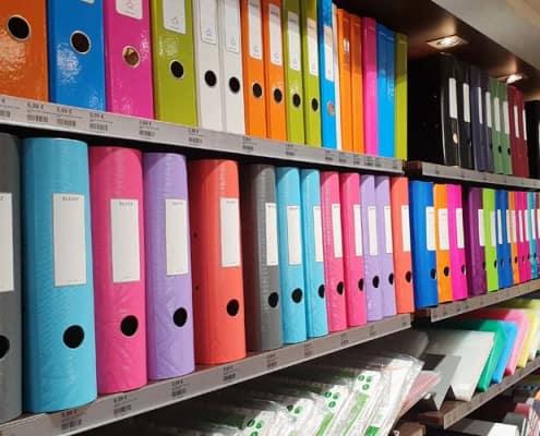 Bürobedarf - Eine große Auswahl an Leitz-Ordnern
