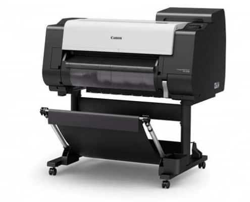 Large Format Printing - Produktbild des Großformatdruckers TX-2100 von rechts