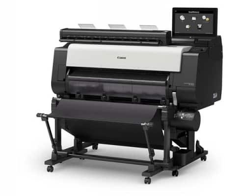 Large Format Printing - seitliches Produktbild des Großformatdruckers TX-3100MFP